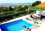 Location vacances Solin - Villa Valenta-Klis near Split, heated pool & view-2