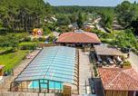 Camping avec Piscine couverte / chauffée Vielle-Saint-Girons - Camping  Landes Océanes-1