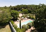 Location vacances Oppède - Villa Les Beaumettes Not Far From Gordes-4