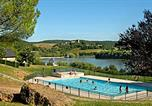 Camping avec Site nature France - Camping Lac du Causse-1