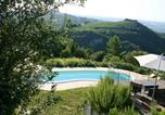 Location vacances Mombaroccio - Villa with 4 bedrooms in Fontecorniale with private pool and Wifi 27 km from the beach-3