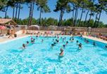 Camping avec Piscine couverte / chauffée Vielle-Saint-Girons - Camping Les Tourterelles -1