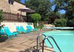 Location vacances Buoux - La bastide de Mauragne - Gîte les Iris-3