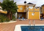 Location vacances  Province de Murcie - Holiday Home Villa Bellavista-1