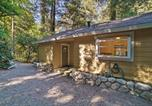 Location vacances Los Gatos - Riverfront Cottage in Redwoods with Decks and Beach!-2