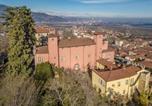 Hôtel Province de Coni - Castello Rosso-4