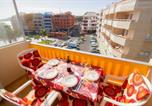Location vacances El Médano - Apt with windprotected balcony above El Medano central square and beach-3