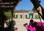 Hôtel Saint-Amand-Montrond - Domaine d'en haut chambre jaune-1