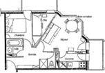 Location vacances Les Avanchers-Valmorel - Rental Apartment Cheval Blanc - Valmorel-3