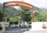 Camping avec Site nature Chorges - Camping Le Fontarache-1
