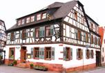 Hôtel Bad König - Goldner Engel, Restaurant - Hotel - Metzgerei-1