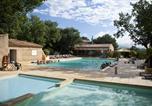 Camping avec Piscine couverte / chauffée Luc-en-Diois - Domaine des Chênes Blancs-4