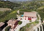 Location vacances Santa Maria della Versa - Villa & Pool in the vineyard !-2