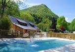 Camping avec Parc aquatique / toboggans Hautes-Pyrénées - Camping Sites et Paysages LA FORET LOURDES-1