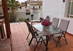 Location vacances Bufali - Bungalow with 2 bedrooms in Xativa with wonderful city view furnished terrace and Wifi 40 km from the beach-1
