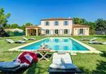 Location vacances Blauvac - Saint-Didier Villa Sleeps 9 Pool Wifi-1