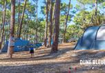 Camping avec Piscine Lacanau - Camping la Dune Bleue-1