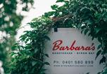 Location vacances Byron Bay - Barbara's Guesthouse-1