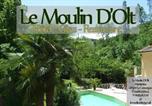 Hôtel La Tieule - Hôtel Le Moulin D'Olt-1