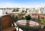 Location vacances Plage de Juan les pins - –Apartment Boulevard Raymond Poincaré-1