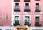 Hôtel Valladolid - Zenit Imperial-4