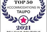Hôtel Taupo - Bellevue Boutique Lodge-2