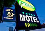 Hôtel Palmerston North - Hacienda Motor Lodge-3