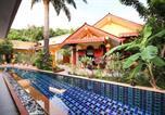 Hôtel Karon - Oyo 75342 Ban Elephant Blanc Bungalow-4