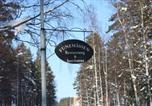 Hôtel Hudiksvall - Flygstaden Vandrarhem-4