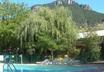 Camping avec Site nature Mende - Camping Les Cerisiers - Hôtel le Vallon-1