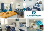 Location vacances Barford - 2 Bedroom House at Elite Relocations with Free Parking, Garden & Wifi - Leamington Spa-1