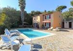 Location vacances Bormes-les-Mimosas - Villa l Oranger villa 5 pieces piscine privée-2