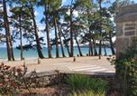 Location vacances Pleuven - Vacances Ô Cap Coz - Jardin vue mer - Résidence Cap Azur Fouesnant-1