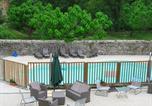 Camping avec Piscine Saint-Sauveur-de-Montagut - Camping Moulin d'Onclaire-2