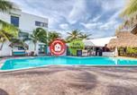 Hôtel Puerto Morelos - Hotel Ojo De Agua-1