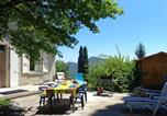 Location vacances Mornans - House with 3 bedrooms in Plan de Baix with wonderful mountain view furnished garden and Wifi-1