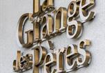 Hôtel Pringy - La Grange des Pères-1