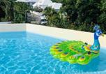 Location vacances  Guadeloupe - Beautiful suite S5, pool, sea view, Pinel Island-4