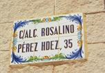 Location vacances Guardamar del Segura - Apartment Alcalda Rosalino Perez-1