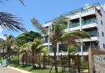 Hôtel Natal - Araça Flat - Beira mar - Apto104 Térreo frente mar-1