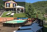 Location vacances Cesio - Casa Bea con Piscina e giardino-1
