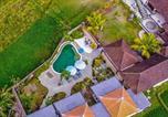 Location vacances Sidemen - Dana Bali Ricefield Villa-1