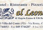 Hôtel Province de Padoue - Hotel Pizzeria Ristorante &quote;Al Leone&quote;-1