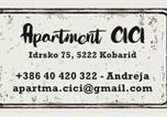 Location vacances Kobarid - Apartma Cici-1