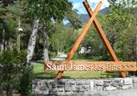 Camping Hautes-Alpes - Camping Chalets Résidentiels Saint James Les Pins-1