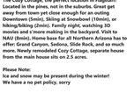 Location vacances Flagstaff - Cozy cottage on hidden hollow-3
