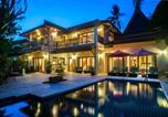 Villages vacances Samui - Beachfront Resort Villa Baan Lotus 4br-3