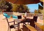 Location vacances Dénia - Denia Seaview Golf, Tennis & Beach Villa-2