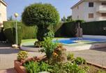 Location vacances Roda de Barà - Excelente Apartamento con piscina con jardín a 500m de la playa-2