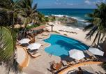 Hôtel Isla Mujeres - Hotel Playa La Media Luna-2